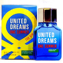 (M) United Dreams - One Summer 100 ml EDT Spray