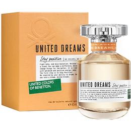 (W) United Dreams - Stay Positive 80 ml EDT Spray