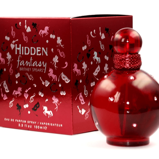 Fantasy Hidden para mujer / 100 ml Eau De Parfum Spray