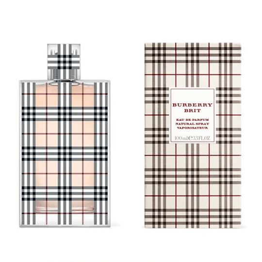 Burberry Brit para mujer / 100 ml Eau De Parfum Spray