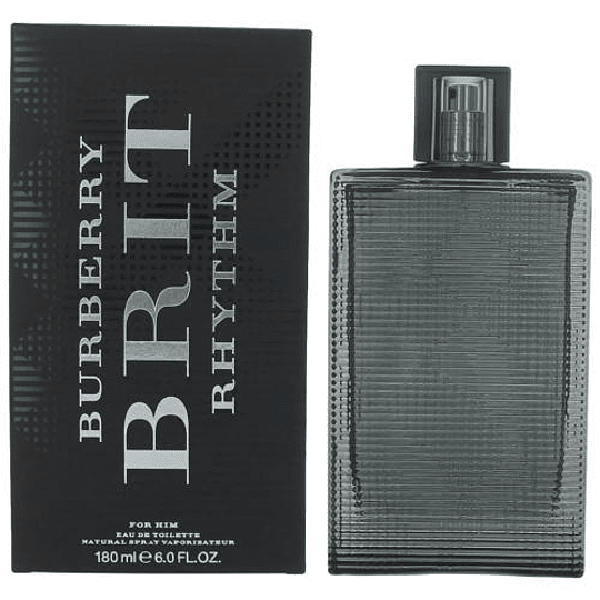 Burberry Brit Rhythm para hombre / 180 ml Eau De Toilette Spray