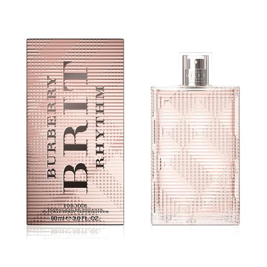 Burberry Brit Rhythm Floral para mujer / 90 ml Eau De Toilette Spray
