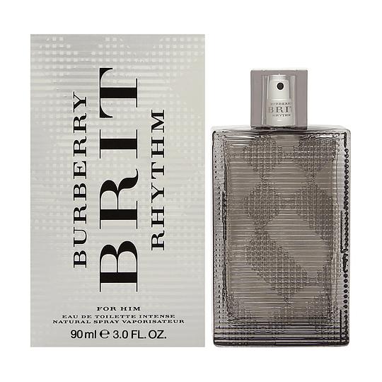 Burberry Brit Rhythm Intense para hombre / 90 ml Eau De Toilette Spray