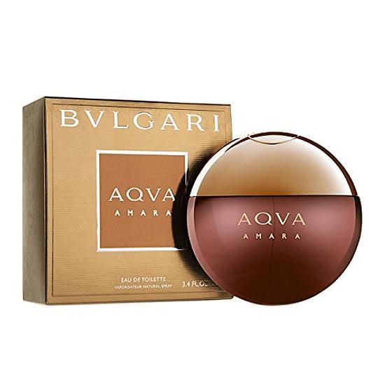 Bvlgari Aqva Amara para hombre / 100 ml Eau De Toilette Spray