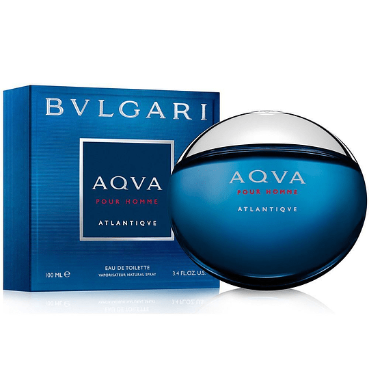 (M) Bvlgari Aqva Atlantiqve 100 ml EDT Spray