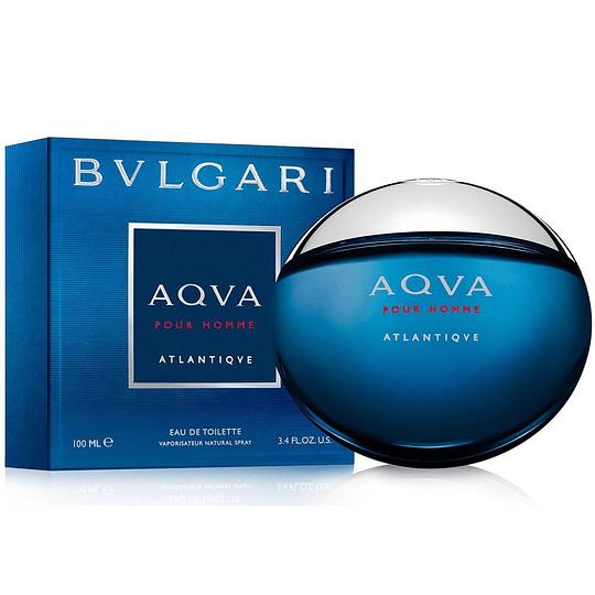 Bvlgari Aqva Atlantiqve para hombre / 100 ml Eau De Toilette Spray