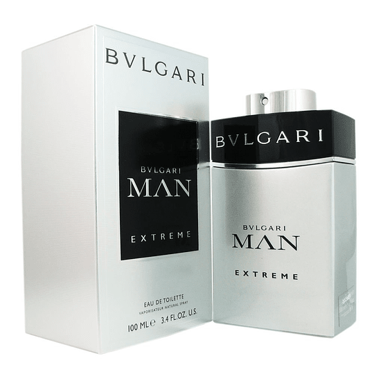 Bvlgari Man para hombre / 100 ml Eau De Toilette Spray