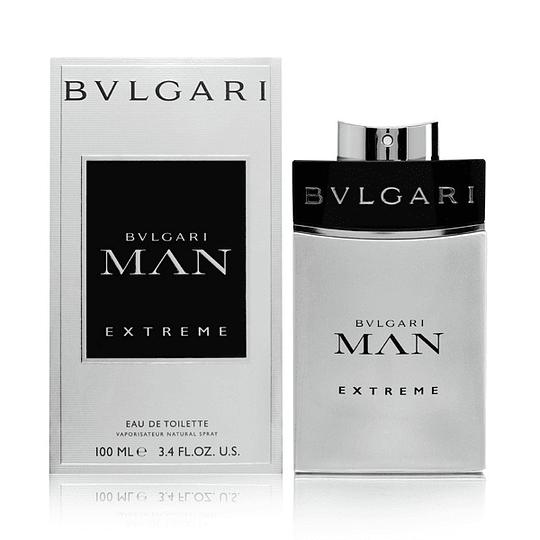 Bvlgari Man Extreme para hombre / 100 ml Eau De Toilette Spray