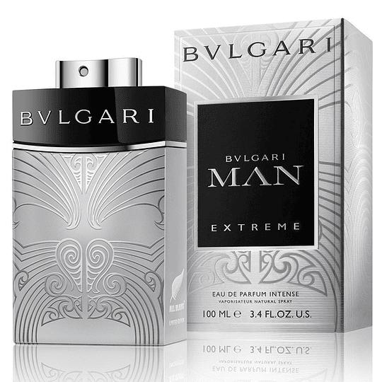 Bvlgari Man Extreme Intense para hombre / 100 ml Eau De Parfum Spray