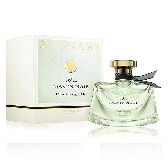 Bvlgari Mon Jasmin Noir L'Eau Exquise para mujer / 75 ml Eau De Toilette Spray