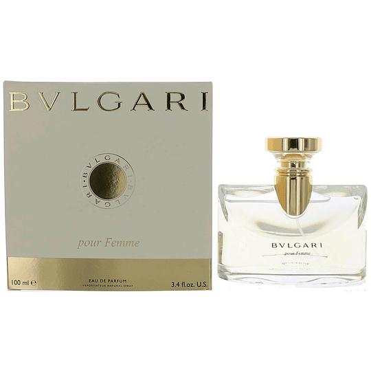Bvlgari Pour Femme para mujer / 100 ml Eau De Parfum Spray
