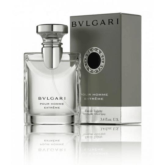 Bvlgari Pour Homme Extreme para hombre / 100 ml Eau De Toilette Spray