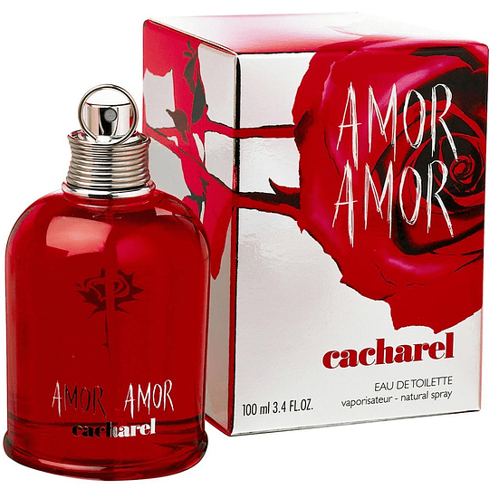 Amor Amor para mujer / 100 ml Eau De Toilette Spray