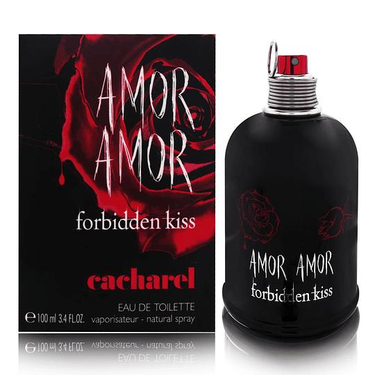 Amor Amor Forbidden Kiss para mujer / 100 ml Eau De Toilette Spray