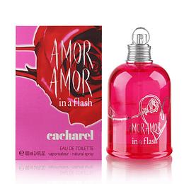 (W) Amor Amor in a Flash 100 ml EDT Spray