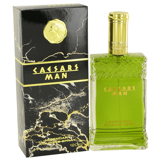 Caesars Man para hombre / 120 ml Cologne Spray