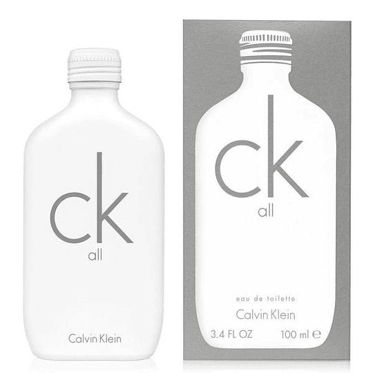 CK All para hombre y mujer / 100 ml Eau De Toilette Spray