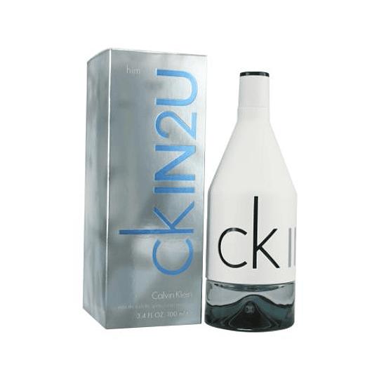 CK In 2u para hombre / 100 ml Eau De Toilette Spray