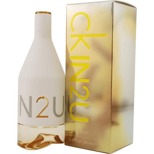 CK In 2u para mujer / 100 ml Eau De Toilette Spray