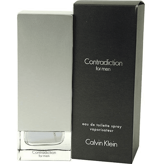 Contradiction para hombre / 100 ml Eau De Toilette Spray