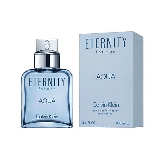 Eternity Aqua para hombre / 100 ml Eau De Toilette Spray