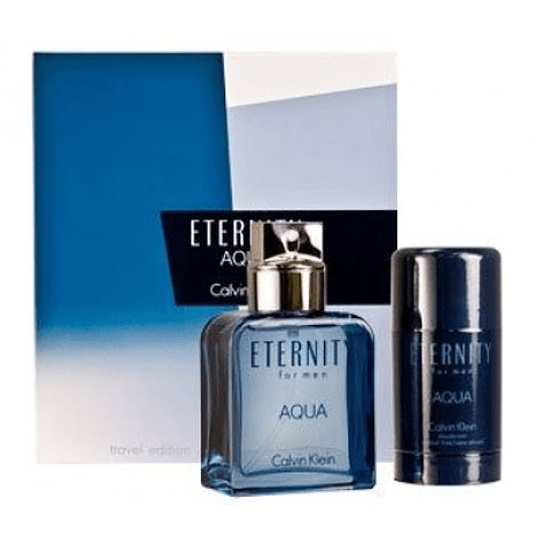 Eternity Aqua para hombre / SET - 100 ml Eau De Toilette Spray