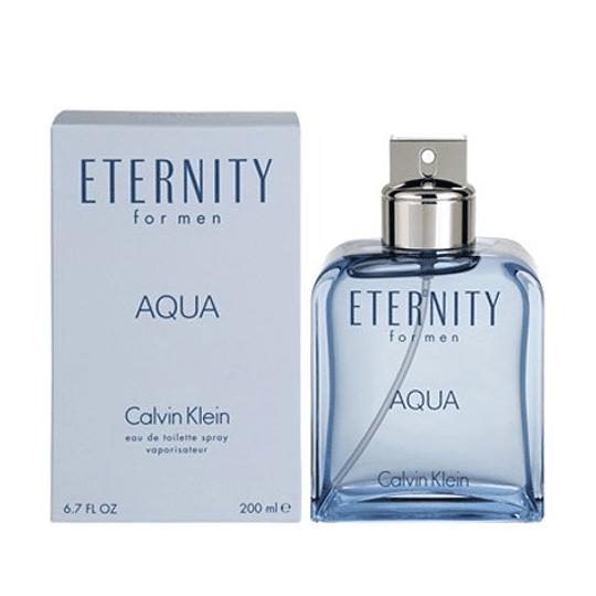 Eternity Aqua para hombre / 200 ml Eau De Toilette Spray