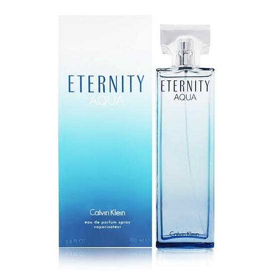 Eternity Aqua para mujer / 100 ml Eau De Parfum Spray