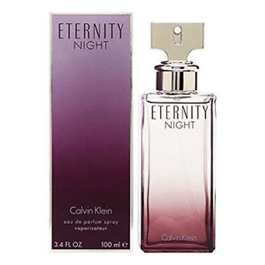 Eternity Night para mujer / 100 ml Eau De Parfum Spray
