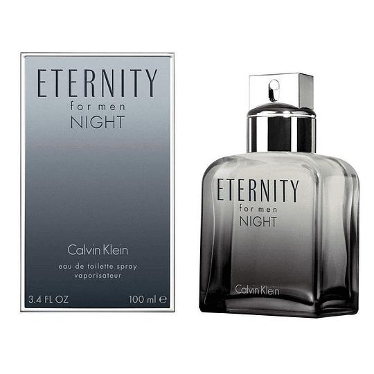 Eternity Night para hombre / 100 ml Eau De Toilette Spray