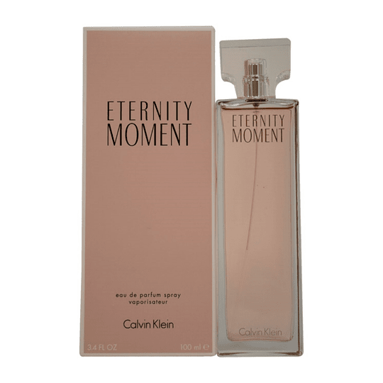 Eternity Moment para mujer / 100 ml Eau De Parfum Spray
