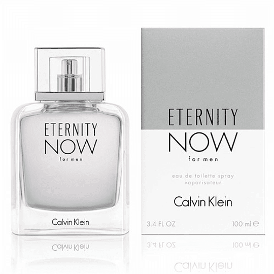Eternity Now para hombre / 100 ml Eau De Toilette Spray