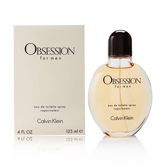 Obsession para hombre / 125 ml Eau De Toilette Spray
