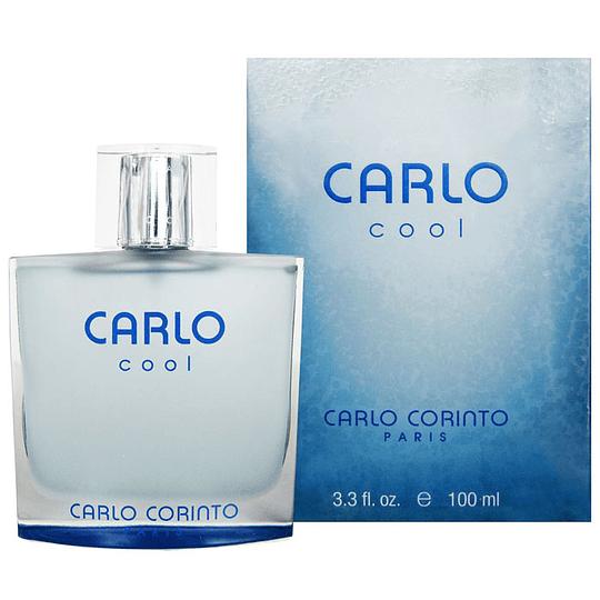 Carlo Cool para hombre / 100 ml Eau De Toilette Spray