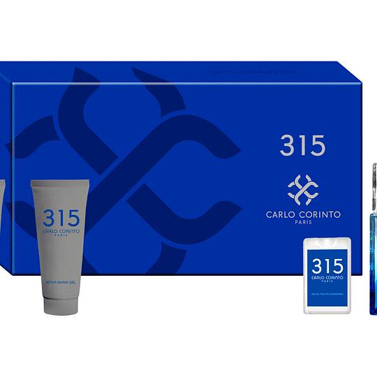 Carlo Corinto 315 para hombre / SET - 100 ml Eau De Toilette Spray