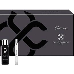 (M) ESTUCHE - Carlo Corinto Black Chrome 100 ml EDT Spray