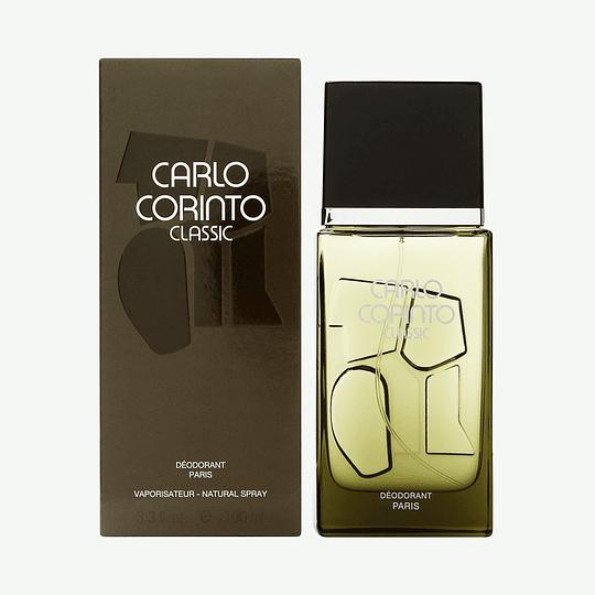 Carlo Corinto Classic para hombre / 100 ml Deodorant Spray Spray