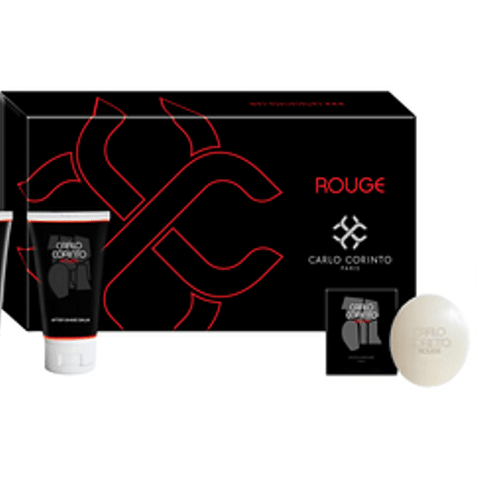 Carlo Corinto Rouge para hombre / SET - 100 ml Eau De Toilette Spray