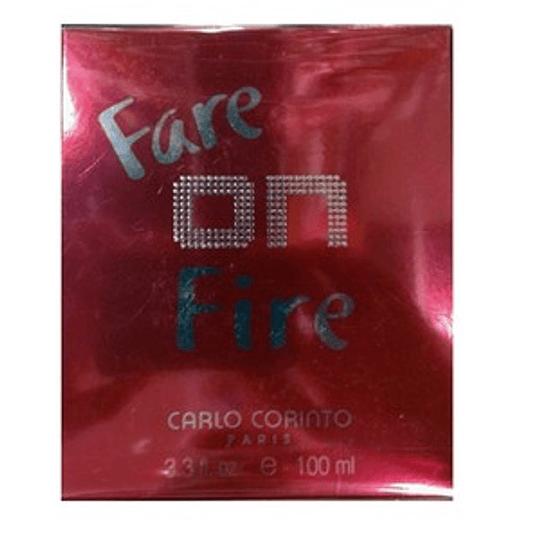 Fare on Fire para mujer / 100 ml Eau De Toilette Spray