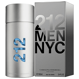212 Men NYC para hombre / 100 ml Eau De Toilette Spray