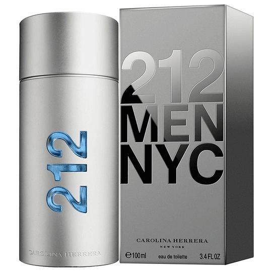 212 Men NYC para hombre / 100 ml Eau De Toilette Spray