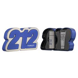 212 Men NYC para hombre / SET - 100 ml Eau De Toilette Spray