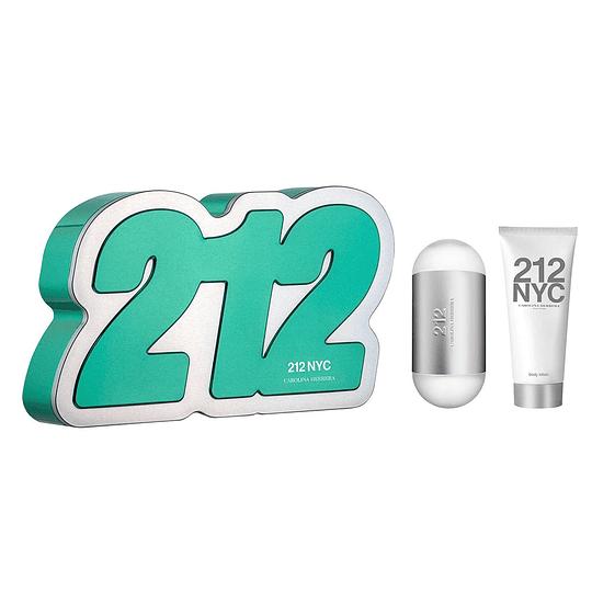 212 NYC para mujer / SET - 100 ml Eau De Toilette Spray