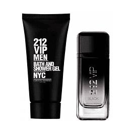 212 Vip Black para hombre / SET - 100 ml Eau De Parfum Spray