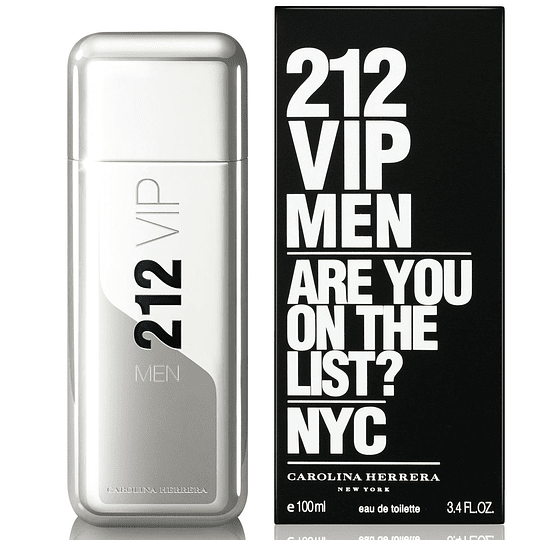 212 Vip Men para hombre / 100 ml Eau De Toilette Spray