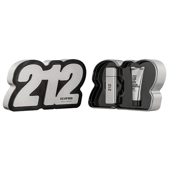 (M) ESTUCHE - 212 Vip 100 ml EDT Spray