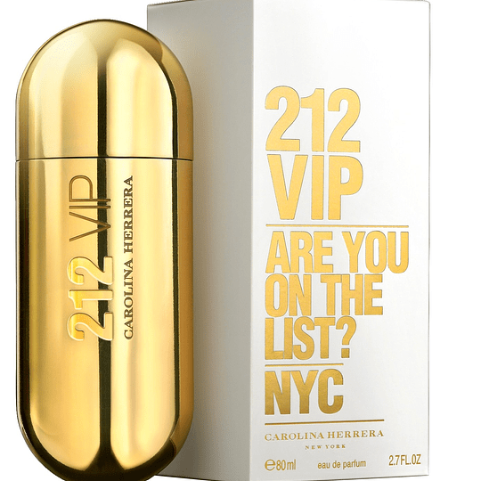 212 Vip para mujer / 80 ml Eau De Parfum Spray