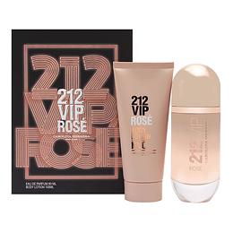 212 Vip Rosé para mujer / SET - 80 ml Eau De Parfum Spray
