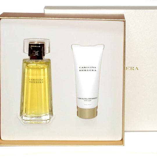 Carolina Herrera para mujer / SET - 100 ml Eau De Parfum Spray