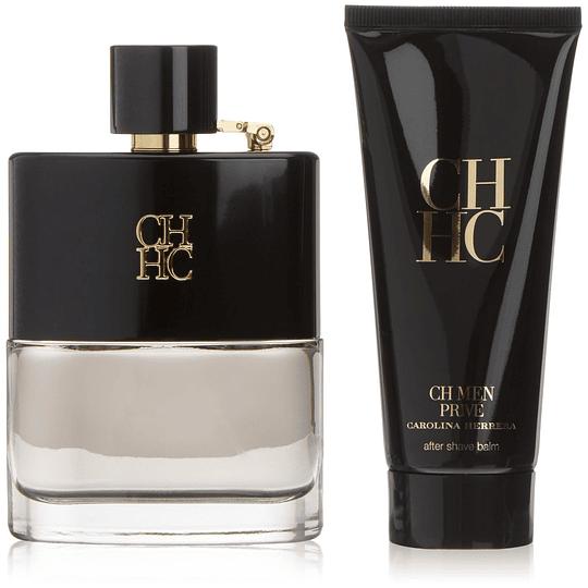 CH Men Prive para hombre / SET - 100 ml Eau De Toilette Spray
